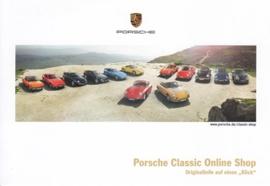 Classic Online Shop, A6-size postcard, German, 2014