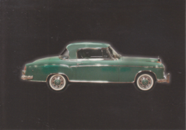 Mercedes-Benz 220 S Coupé 1959, Classic Car(d) of the month 4/2003, Germany