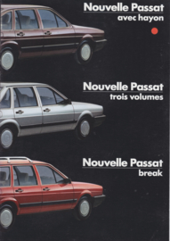 Passat brochure, 8 pages., A4-size, French language, 1/1985