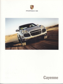 Cayenne/S/Turbo brochure 2005, 148 pages, MKT 001 00022 05, USA, English