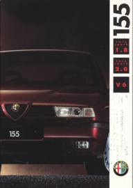 155 1.8/2.0/V6 brochure, 48 pages, 01/1992, # 2204, Dutch