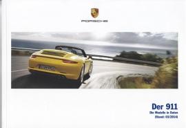 911 Carrera pricelist, 126 pages, 03/2014, German