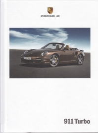 911 Turbo brochure, 144 pages, 04/2007, hard covers, German