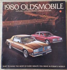 Cutlass/Cutlass Cruiser/Omega/Starfire 1980, 28 large pages, 08/1979, USA