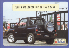 Vitara, DIN A6-size postcard, Dutch language, 1999
