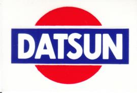 Datsun, sticker, 8 x 5,5 cm