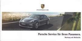 Panamera service folder, 12 smaller pages, 12/2014, German