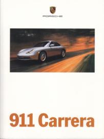 911 Carrera (996) brochure 2000, 56 pages, USA, English