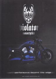 Violator The Edge leaflet, 2 pages, 2004, Dutch language