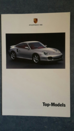 Top Models - fold-out brochure, 16 large pages, 08/1999, German language