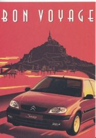 Saxo, Boomerang freecard, A6-size, P12-01, 2001, Dutch