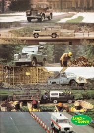 Program 88/109/Pick-up/chassis brochure, 26 pages, about 1983, Dutch language