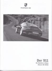 911 Carrera pricelist, 114 pages, 08/2010, German