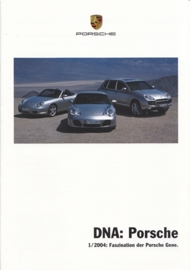 DNA Porsche 1/2004 with Boxster, 8 pages, 03/2004, German language