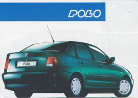 Polo Sedan brochure, A4-size, 4 pages, Dutch language, 03/1996