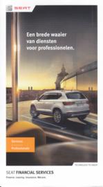 Services folder, 6 small pages, 11/2016, Dutch language (Belgium)