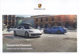Panamera Tequipment brochure, 100 pages, 11/2017, German