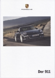 911 Carrera brochure, 182 pages, 03/2009, hard covers, German