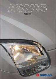 Ignis 5-Door brochure, 28 pages, #40803, 2004, Dutch language