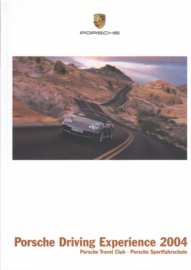 Driving Experience brochure, 120 pages, 2004, German language