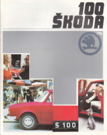 100 Sedan brochure, 16 pages, Dutch language, about 1980