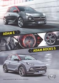 Adam S & Adam Rocks S brochure, 4 pages, 06/2015, Belgium (Dutch)
