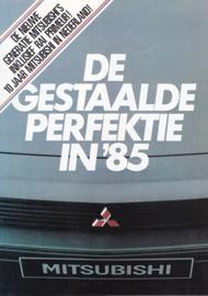 Program 1985 brochure, 8 pages, Dutch language
