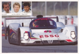 905 Le Mans race car postcard, 17 x 12 cm, French issue, 1992