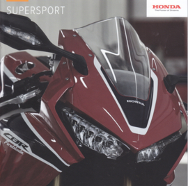 Honda Supersport brochure, 20 pages, about 2016, Dutch language
