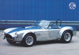 MK II 289 FIA Roadster, DIN A6-size, English language, about 2000