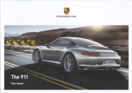 911 Carrera Coupe, Targa & Cabriolet brochure, 174 pages, 04/2018, English, hard covers