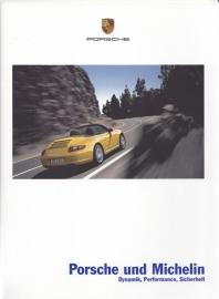 Michelin tyres for Porsche brochure, 28 pages, 03/2005, German language