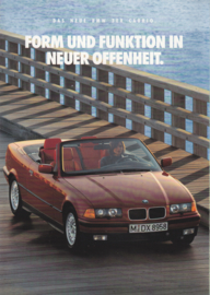 3-Series Cabrio brochure, 8 pages, A4-size, 1/1993, German language