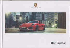 Cayman/Cayman S brochure, 136 pages, 03/2014, hard covers, German