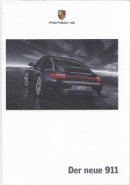 911 Carrera brochure, 178 pages, 02/2008, hard covers, German