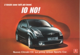 C2, PromoCard Italy, A6-size, # 3988, 2003, Italian