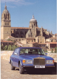 Silver Spur postcard, DIN A6 size, English text, 1986