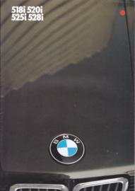 518i/520i/525i/528i brochure, 16 pages, 2/1984, Dutch language