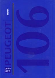 106 Trophy brochure, 4 pages, A4-size, 1992, Dutch language