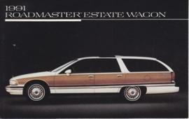Roadmaster Estate Wagon, US postcard, standard size, 1991