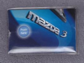 Mazda 3,  pocket light, credit card size