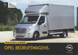 Movano city box leaflet, 2 pages, DIN A4-size, 2015, Dutch language