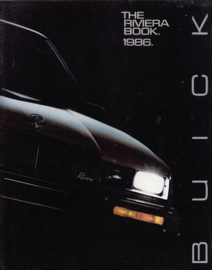 Riviera 1986, all models, 28 pages, 86-BA006, USA