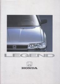 Legend Sedan brochure, 32 + 2 pages, A4-size, Dutch, about 1986