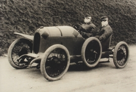 "Austro Daimer ""Sascha"" 1922, A6-size postcard, factory-museum issue, German"