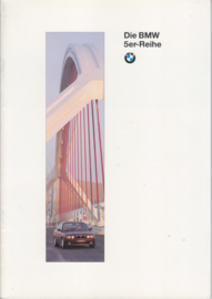5-Series brochure, 44 pages, A4-size, 2/1994, German language