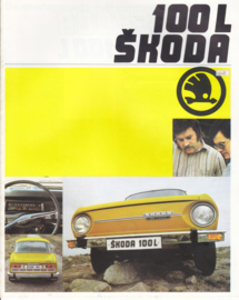100 L Sedan brochure, 16 pages, Dutch language, about 1980