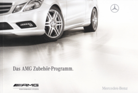 AMG Accessories program brochure, 110 pages, 05/2009, German language