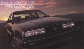 6000 STE, 1988, standard-size, USA