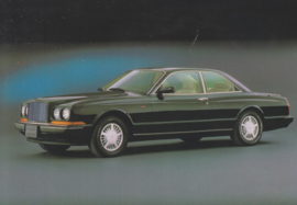 Continental R Coupe, DIN A6-size postcard, 1991, English language